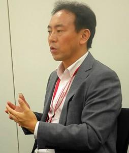 吉岡 久様(帝人株式会社 人事部 人財開発グループ長)